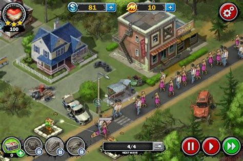 game zombie mob defense zombies line of defense war of zombies for android