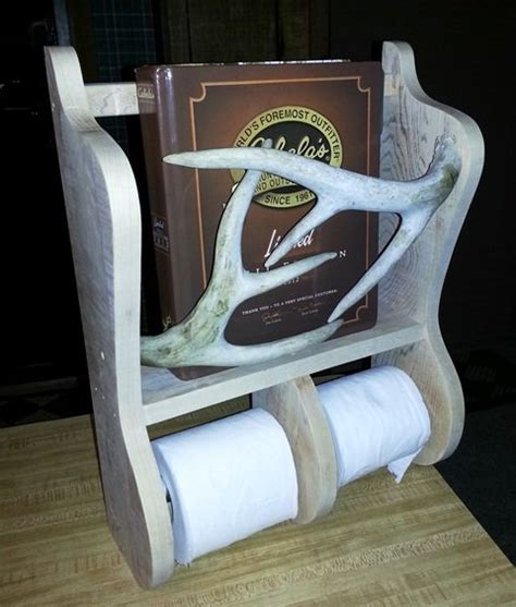 toilet paper holder magazine rack by omegared