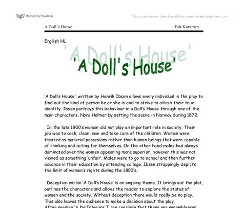 who wrote a doll house when was a doll house written 28 images why you should read books from every