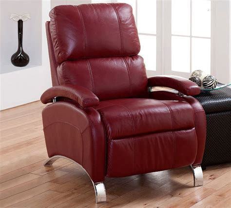 red leather recliner chairs barcalounger oracle ii 7 4160 stargo red leather pushback