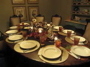 set table to dinner photo story thanksgiving day meredith williams