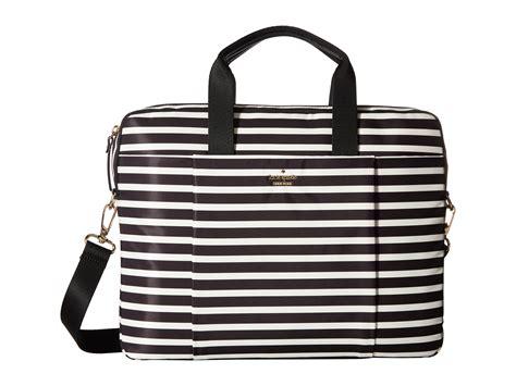 kate spade new york stripe laptop bag laptop at