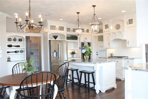 lighting over island farmhouse pendant lighting kitchen farmhouse kitchen