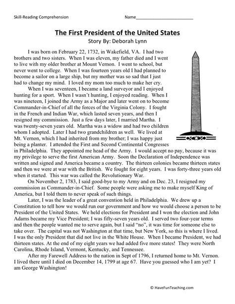 george washington biography for third grade search results for first grade george washington