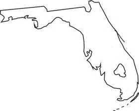 Florida Map Outline Png by Florida Map Clipart Clipart Suggest