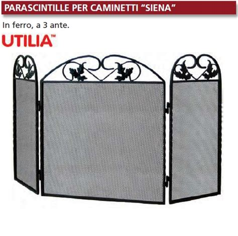 parascintille per camini parascintille per caminetti siena in ferro a 3 ante cm
