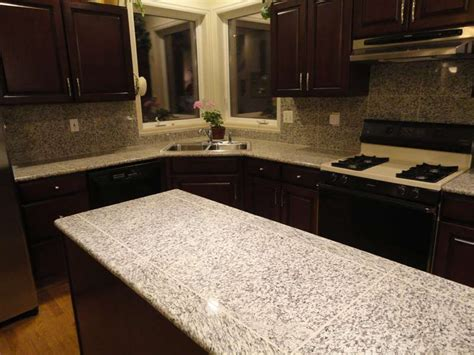 Granite Tile For Countertops by White Tiger Granite Granite Tile Countertop For Kitchen