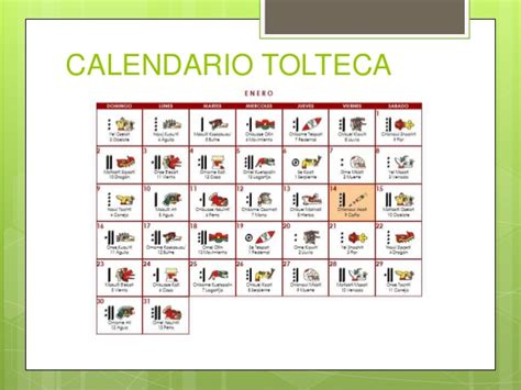 Calendario Tolteca Cultura Tolteca
