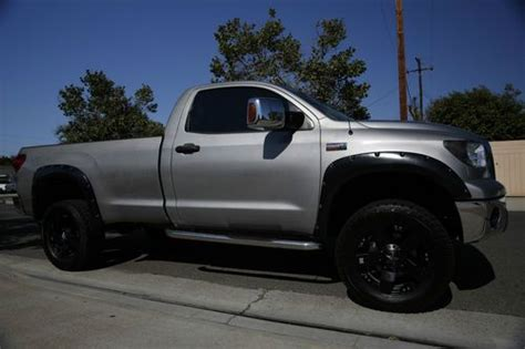 toyota tundra long bed for sale sell used 2007 toyota tundra long bed reg cab lifted xd