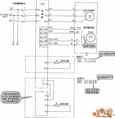 电梯控制 铃木电梯电路原理图 维库电子开发网