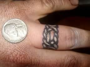 30 glamorous wedding ring tattoos sloe