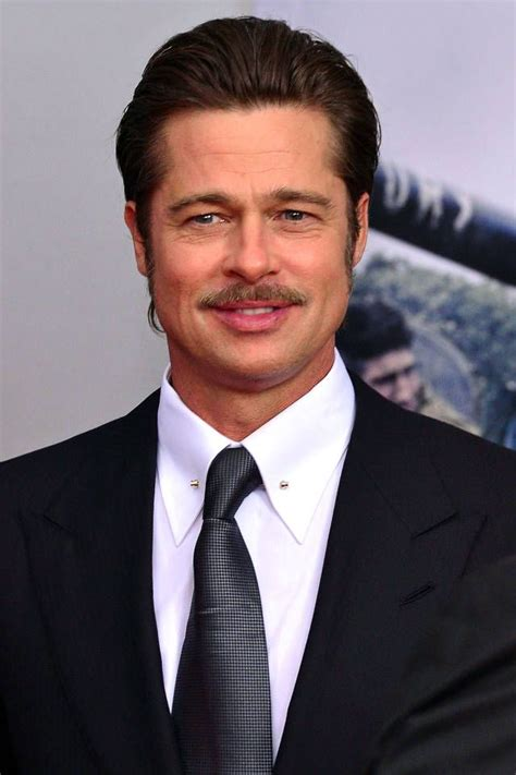 actor with handlebar mustache movember the 12 best celebrity mustaches brad pitt