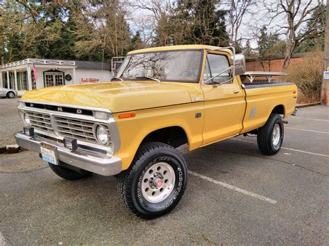 Ford F250 4x4 by 1973 Ford F250 4x4 Highboy For Sale