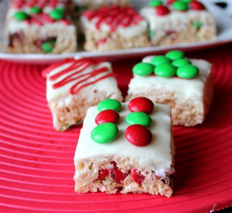 cute christmas rice krispie treats