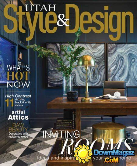 utah home design magazine utah style design winter 2016 187 download pdf magazines