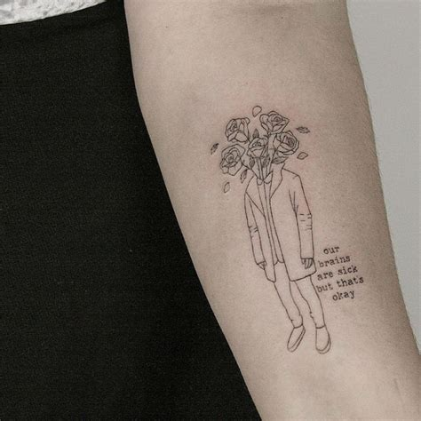 tiny tattoo idea 23 amazing minimalist tattoos by the