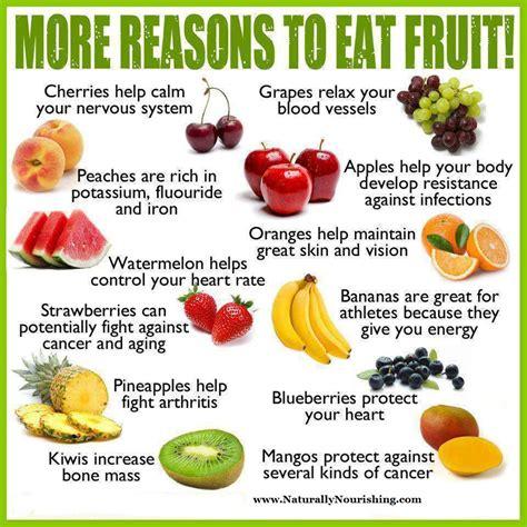 more reasons to eat fruit naturally nourishing