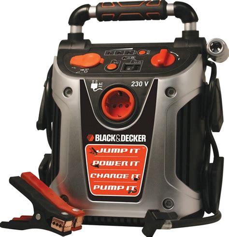black and decker start it battery charger jump starter
