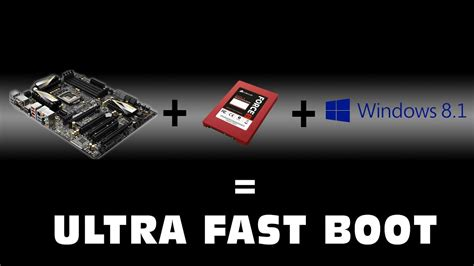 fast boat start up youtube ultra fast boot with win 8 1 ssd asrockz77extreme 6