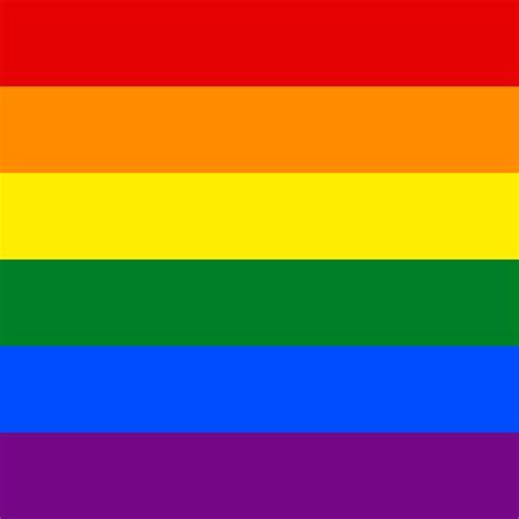 lgbt flag colors file lgbt flag square svg wikimedia commons