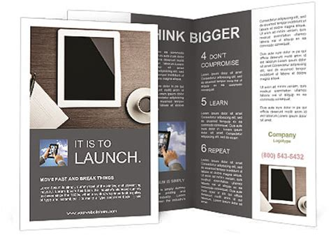 flyer design app for ipad use ipad brochure template design id 0000007977