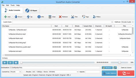 audio format converter linux soundturn audio converter download
