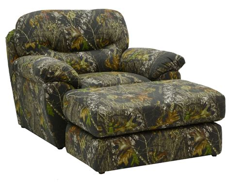 Oversized Camo Recliner by Cumberland Oversized Chair In Mossy Oak Or Realtree Camouflage Fabric By Jackson Furniture 3218 01
