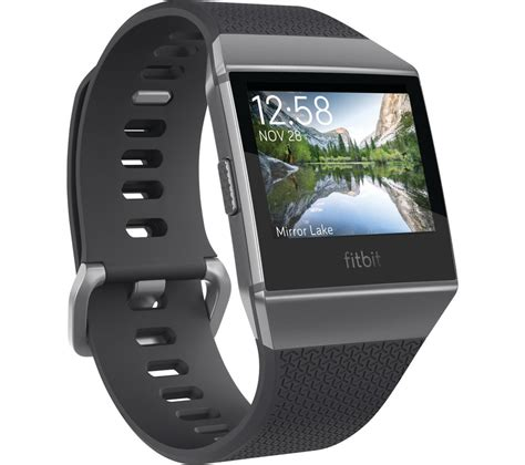 Fitbit Ionic buy fitbit ionic charcoal smoke grey free delivery
