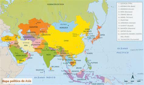 asia y africa mapa politico recursos c sociales eso