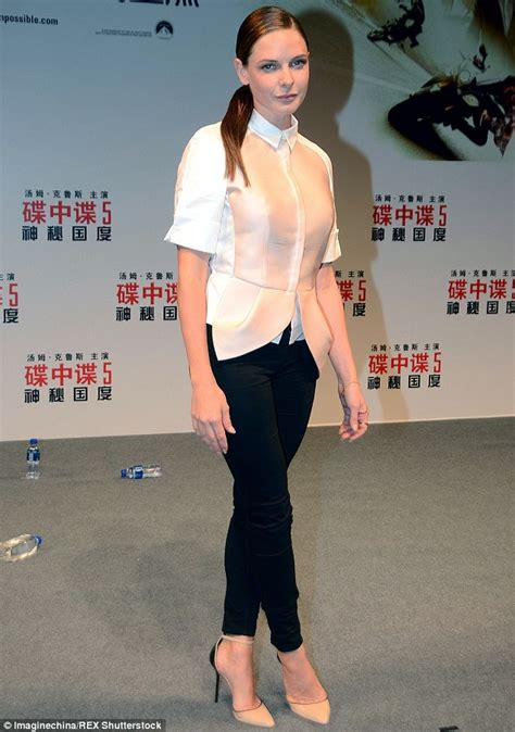 actress of mission china tom cruise joins mission impossible s rebecca ferguson at