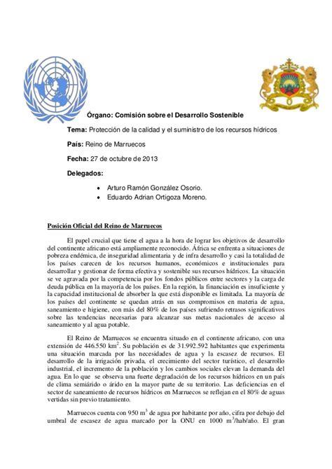 Modelo Curriculum Naciones Unidas Posici 243 N De Marruecos