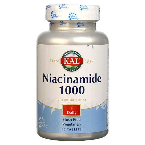 Niacinamide Detox by Buy Kal Niacinamide 1000 Mg 90 Tablets Evitamins