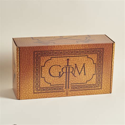 george r r martin limited edition box review my