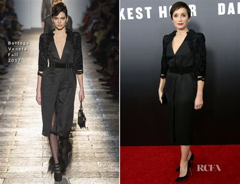 darkest hour new yorker kristin scott thomas in bottega veneta darkest hour
