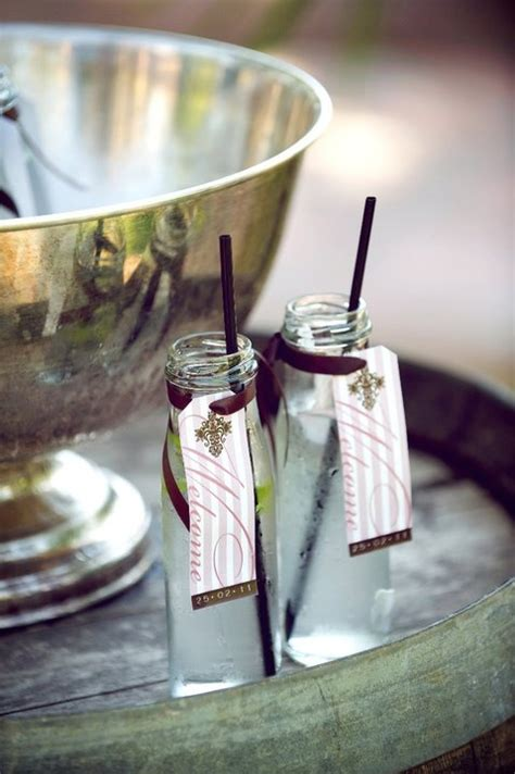 15 best images about wedding welcome drinks on pinterest