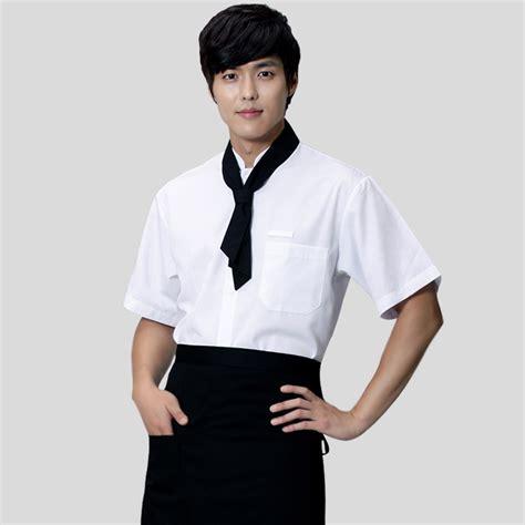 hot unisex japanese korea style restaurant chef cook uniform kitchen salon work wear cook suit
