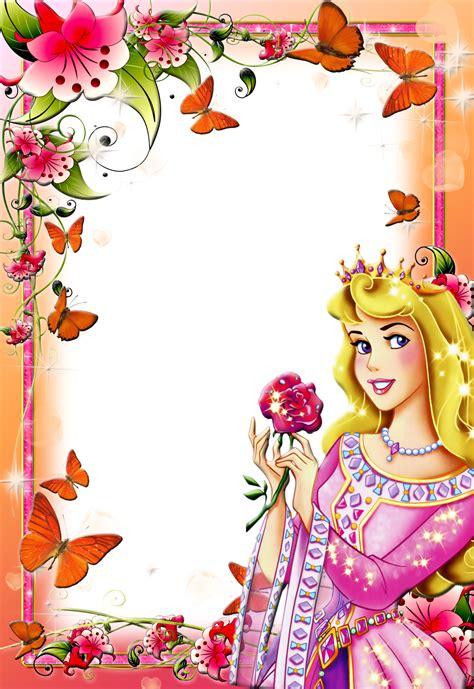 imagens para photoshop frames png fotos princesas disney 2 paper disney