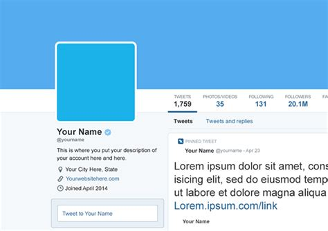 free april 2014 twitter psd mockup template on behance