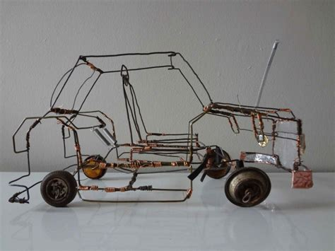 wire car to learn
