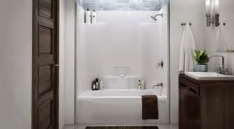 one piece acrylic tub shower insert for the home 25 best ideas about one piece tub shower on pinterest