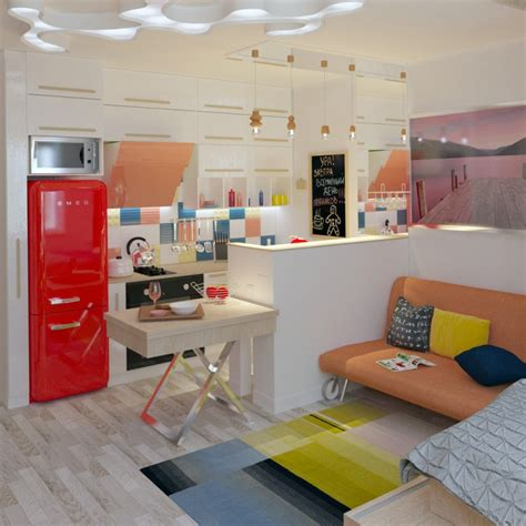 cuisine equip馥 studio design amenagement cuisine studio reims 1117