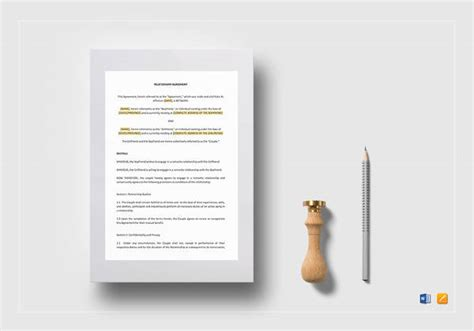 business separation agreement template 9 business separation agreement templates sle templates