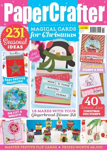 Papercrafter Magazine - papercrafter magazine no 114 subscriptions pocketmags