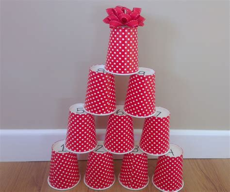 plastic cups christmas tree count and stack tree my kid craft