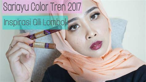dramaatic makeup look using sariayu color tren 2017 inspirasi gili lombok review