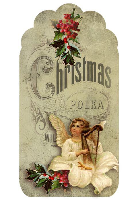 imagenes de navidad retro etiquetas retro de angeles para navidad para imprimir