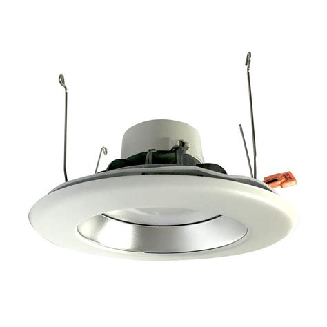 commercial electric 6 in white recessed led trim