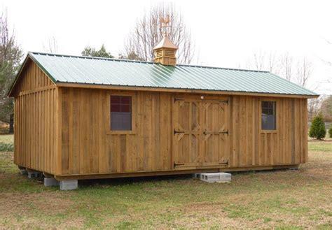 Hilltop Storage Sheds deluxe shed