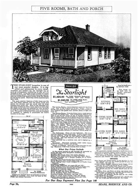sears homes floor plans sears bungalow house plans house design