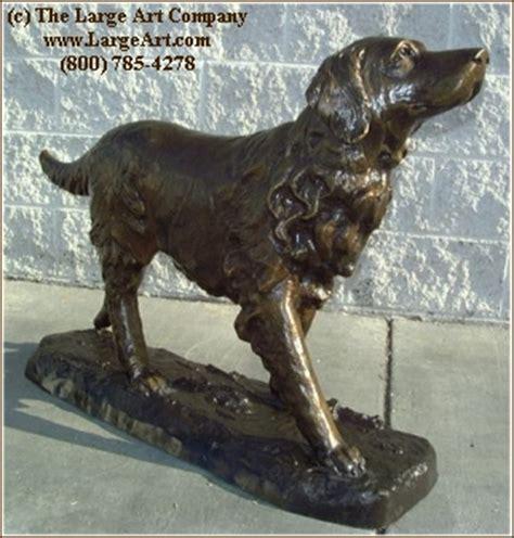 golden retriever garden statue large animal statues home design ideas and inspiration